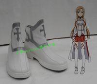 Wholesale Asuna Cosplay Shoes - Wholesale- Sword Art Online ALfheim Online Asuna Yuuki cosplay costume shoes boots
