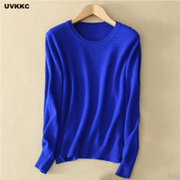 Wholesale Thin Pink Elastic - Female Knitwear Knitted Sweater Women Cashmere Pullovers Sweater Winter O Neck Slim Elastic Plus Size Casual Top Solid Sweater