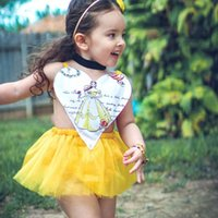 Wholesale Toddlers Romper Patterns - Ins Hot Infant Baby Girls Lace Rompers Toddler Heart Pattern Jumpsuits Babies Princess Halter Romper 2017 Childrens Summer Clothing