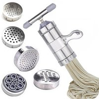 Wholesale Manual Noodle Maker - Stainless steel manual noodle maker cooking tools pasta machine kitchen tools pasta maker vegetable fruit juicer