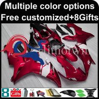 Wholesale Motorcycle Cowl Yamaha - red Body motorcycle cowl for Yamaha YZF-R1 2002-2003 02 03 YZFR1 2002 2003 02-03 ABS Plastic Fairing