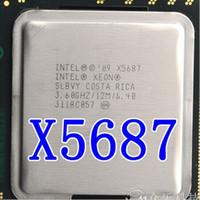 ingrosso processore a quad core xeon-X5687 Processore CPU Intel Xeon X5687 da 3,6 GHz a 12 MB Quad Core 6,4 GHz / s Processore CPU LGA1366 SLBVY