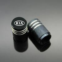 Wholesale Valve Caps Blue - Sport Styling Auto Accessories Car Wheel Tire Valve Caps Case For Kia Rio Sorento Cerato Cee'd Mohave Sportage ect. (4Piece set)