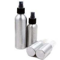 алюминиевые флаконы с распылителем оптовых-Алюминиевые бутылки брызга бутылки для духов Refillable косметическая упаковка макияж контейнеры 40ml/50ml/100ml/120ml/150ml/250ml