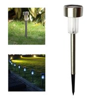 Wholesale Stainless Steel Solar Spotlight - Stainless Steel Solar Lawn Light For Garden Decorative Solar Power Light Outdoor Spotlight Solar Garden Lamp