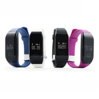 Wholesale Counting Watch - Wholesale- Symrun Counting Wristband Heart Rate Bracelet Health Watch Fitness Tracker Alarm Vibrating Smart Band H3 For Women Men Mobile