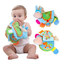 Wholesale Learning Baby Books - Baby Toy Infant Quiet Tooth Gum Book Toys Cloth Doll Early Development Books Toy Learning & Education Gift