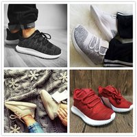 Wholesale Cheap Girls Black Leather Shoes - Discount Cheap 2017 Baby Kids And Girls Wholesale Tubular Shadow High Quality Running Shoes Fashion Sports Cheap Kids Shoes Size 25-35