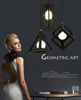 Wholesale Light Fixtures Wholesale Prices - Best price of LED drop pendant ceiling Lamp Light fixture---geometrical shape