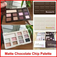 Wholesale chip wholesale - Factory Direct Chocolate Chip Eye Shadow Palette 11 colors Makeup Professional eyeshadow Palette White and Matte eyeshadow DHL shipping