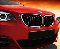 Wholesale Stickers Three - Selling BMW M movement modified car stickers three-color stickers new 1 5 6 system X1   3 5 6   Z4