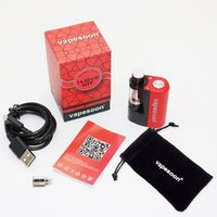 Wholesale Cigarettes Electronique Metal - Original Mini Box Mod Kit Vapesoon Ilove 40W 1100mAh Ecig Sub ohm 0.5ohm VS rx200s Electronic Cigarette Electronique Starter Kit