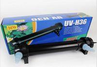 Wholesale Pond Water Filter - JEBO 36W Wattage UV Sterilizer Lamp Light Ultraviolet Filter Clarifier Water Cleaner For Aquarium Pond Coral Koi Fish Tank 3000L