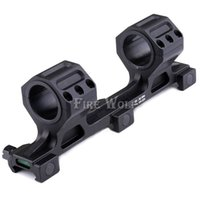 """Wholesale Picatinny Rail Scope Mount Rings - Quick Detach(QD) Scope Mount 1""""  30mm Ring Mount picatinny rail weaver with Level"""