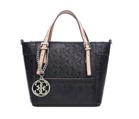 Wholesale New European Pattern - new arrival fashion women shoulder bag Delaney pattern female Tote small Handbag With Crossbody Strap Colors SKUGUBAG
