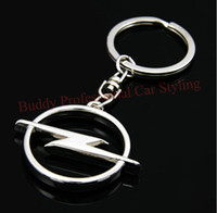 Wholesale Opel J - High Quality Car Styling Metal Key Ring Keychains FOR OPEL ASTRA J H COSMO Insignia Mokka Corsa Free Shipping