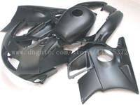 Wholesale 92 Honda F2 - All black fairings+tank for honda CBR600 F2 1991 1992 1993 1994 CBR600F2 91 92 93 94 fairing body kit #f83u4 windscreen