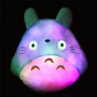 Wholesale Luminous pillow Christmas Toys Led Light Pillow plush Pillow Hot Colorful Stars kids Toys Birthday Gift