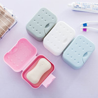 Wholesale Light Pink Storage Boxes - Hot Sales ! Multifunctional Portable Sealed Soap Box Waterproof Soap Holder Plastic Storage Box Travel Essentials