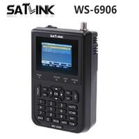 """Wholesale Satellite Meters - Satlink WS-6906 3.5"""" DVB-S FTA Digital Satellite Meter Satellite Finder WS 6906 Satlink WS6906 0804017"""