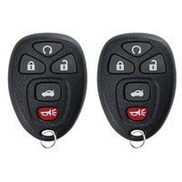Wholesale Keyless Entry Remote Start Alarm - 2pcs Remote 5 Buttons Start Keyless Entry Car Key Fob Transmitter Clicker Alarm for 22733524 AUP_42C
