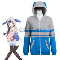 Love Live School Idol Project Sonoda Umi Animal Hoody Felpa Cappotto maglione Giacche Outwear Outfit Costumi Cosplay