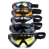 Wholesale Sunglasses Snowboard - Winter Snow Sports Skiing Snowboard Snowmobile Anti-fog Goggles Windproof Dustproof Glasses UV400 Skate Ski Sunglasses Eyewear