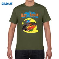 Bat And Robin T Shirt Boy Cotton Short Sleeve Crew Neck Tshirt Teenage Costume 2017 Футболка для тренировки для мужчин