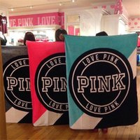 Wholesale Pink Plaid Bedding - New Arrivals Pink Secret Carpet Manta Fleece Blanket Throws on Sofa   Bed   Plane Travel Plaids Bedspread Limited Battaniye Flannel fleece