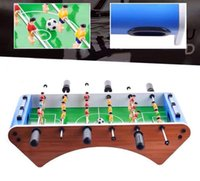 "Wholesale Wholesale Wooden Tables - 20"" Foosball Table Competition Sized Soccer Arcade Game Room Table Football Indoor Arcade Family Sports Toys for Kids"
