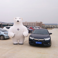 Wholesale New Style Mascot Costumes - New Style Inflatable Mascot Costume Inflatable Polar Bear For Advertising 2.8M Tall Customize For Adult Suitable For 1.6m To 2.2m Adult