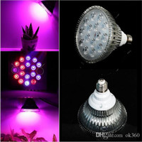 Wholesale epistar grow lights resale online - Full spectrum E27 LED Grow Light Bulb W W W W W W V V Plant Growing Lamp Spotlight for Hydroponic Garden Greenhous