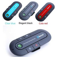 Universal black car kit - Quality Supertooth Bluetooth Handsfree In Car Visor Speakerphone Car Kit with Black color DHL