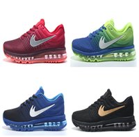 Wholesale Cheap Mens Gym Shoes - Wholesale Top Quality New Arrive Cheap 2017 Mens Maxes Running Shoes Sneakers Maxes Athletic Shoes Men Trainers Sport Shoes size 36-46