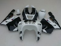 kawasaki ninja zx7r karosserie großhandel-Karosserie frei anpassen Verkleidungen für Kawasaki Ninja ZX7R 96 97 98 99 00-03 weiß schwarz Verkleidung Kit ZX7R 1996-2003 TY45