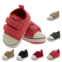 Wholesale Toddlers Shoes Manufacturers - Baby shoes 0-1.5 manufacturer wholesale pure color toddler recreational shoe 6 color