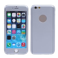 Wholesale iphone 5s front skin for sale - 360 Degree Front Back Full Body Protective Skin Cases For Cover iPhone s plus s Ultra Thin Cellphone casew whit ratail packing