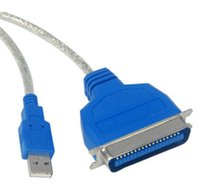 Wholesale Z Printer - 1pcs Z-TEK ZE388A Premium USB2.0 to Parallel IEEE 1284 Printer Cable Adapter for win7 8 1.5m