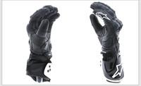 Wholesale Gp Pro Motorcycle Racing Gloves - Motorcycle Gloves GP PRO Men Full Finger Leather Glove Motocross Racing Moto Motorbike Luvas Guantes