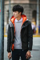 Wholesale Napapijri Winter Jacket - Outside Coat napapijri down jacket Short coat for men Short thickening Mens winter coats hooded clothes 5 colors for 2015 hot sale