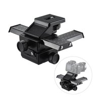 Wholesale Digital Camera Dc - Pro 4-Way Macro Focusing Focus Rail Slider Close-Up Shooting for Digital SLR Camera and DC with Standard 1 4-Inch Screw Hole