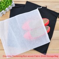 Wholesale Travel Clothes Storage Bags - One-time Travel Shoes Package High Quality Thickening Non-woven Fabric Shoe Storage Bag Can Store A Variety Of Shoes.
