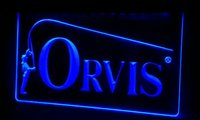 orvis fly fishing rod - LS095 b Orvis Fly Fishing Fish Rod Reed Neon Light Sign Decor Dropshipping colors to choose