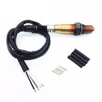 Wholesale oxygen sensors - 4-Wrie Universal Lambda Probe Oxygen O2 Sensor for CITROEN FIAT HYUNDAI VW RENAULT OE#: 0258986507 Oxygen Sensor Car O2 Sensor Lambda