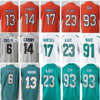 Wholesale Hockey 13 - 13 Dan Marino 6 Jay Cutler 14 Jarvis Landry Jersey 17 Ryan Tannehill 23 Jay Ajayi 91 Cameron Wake 93 Ndamukong Suh Jerseys