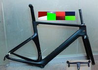 Wholesale racing bikes frame carbon Road Bicycle Frameset T1000 Carbon Frame road bike carbon road frame