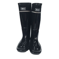 Wholesale Wholesale Rubber Rainboots - WOMEN'S Rainboots Tall Height Rubber Waterproof Wellies Rain boots Water Shoes with dust bag Fedex free