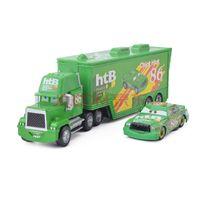 Wholesale Cars Htb 86 - Cars 2 Original Pixar Car 86 htB Chick Hicks Cars Truck Set Metal Toy Car Model For Children Kid Gift