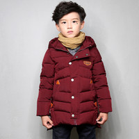 Wholesale Winter Coats Kids Luxury - Baby Luxury Brand Winter Jacket Kids Outwear Snow Coat Children Parka For Boys And Girls Free Shipping K005