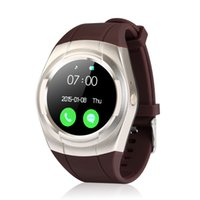 Wholesale Gps Watch Cellphones - Bluetooth Smart Watch GPS Support SIM Card TF Card Pedometer Fitness Tracker Smartwatch For Android Cellphone T60